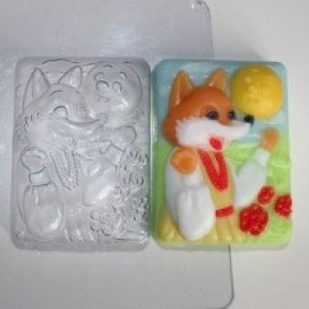 Пластиковая форма для мыла - Сказки: Колобок (ed)