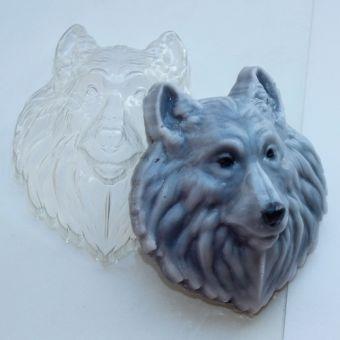 Волк - Сингл арт-0517, пластиковая форма