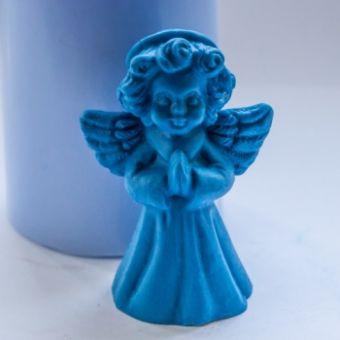 Рождественский ангел 3D - силиконовая форма