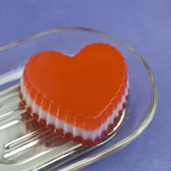 Сердце волнистое (pc) - пластиковая форма