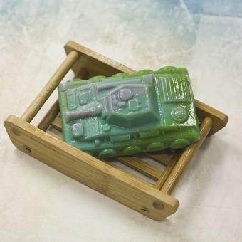 """Пластиковая форма для мыла """"Танк (pc)"""""""