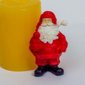 Санта 3D - силиконовая форма