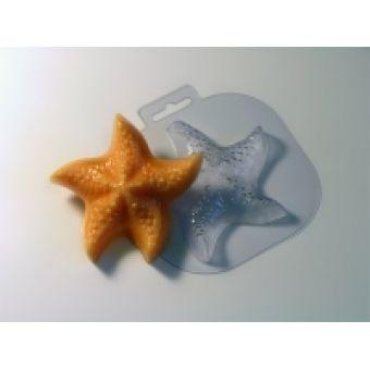 Морская звезда большая - пластиковая форма