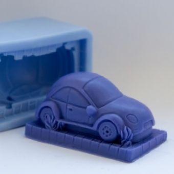 Машина 3D - силиконовая форма