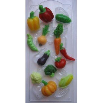 Овощное ассорти - пластиковая форма