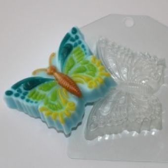 "Пластиковая форма для мыла ""Бабочка (ed)"""