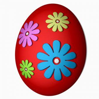 Яйцо (ромашки) (pc) - пластиковая форма