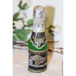 Бутылка Шампанское - силиконовая форма