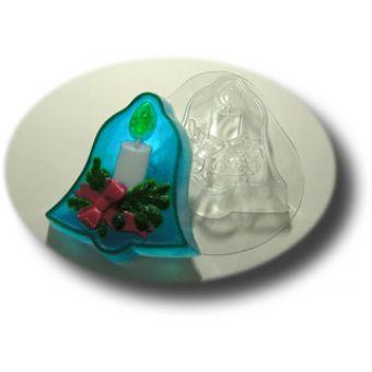 Рождественский колокольчик(mf)- пластиковая форма