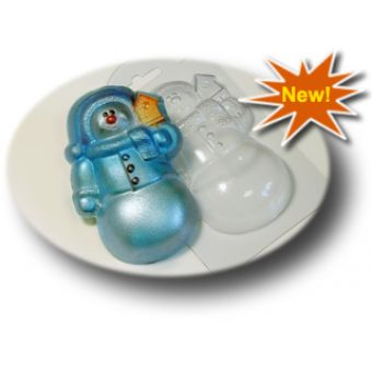 Снеговичок(mf) - пластиковая форма