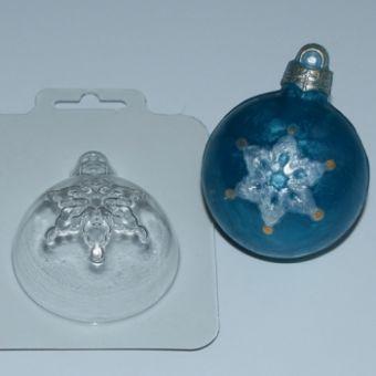 Шар Снежинка (Ed) - пластиковая форма
