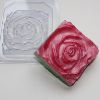 Роза квадратная ED - пластиковая форма
