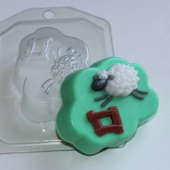Считаем овцу ED - пластиковая форма