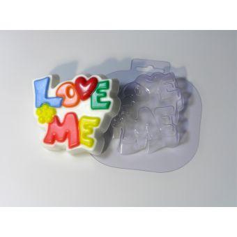 Love me - пластиковая форма