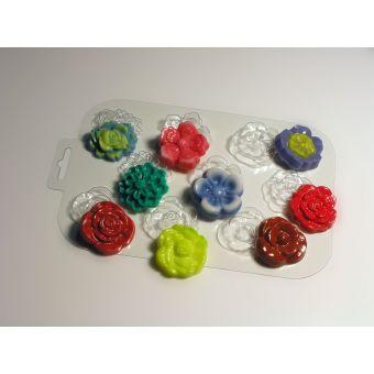 Цветочная поляна - пластиковая форма