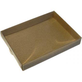 Картонная коробка для упаковки подарков245х185х30 мм