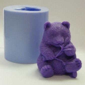 Панда 3D - силиконовая форма