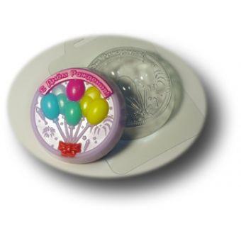 С Днем Рождения (mf) - пластиковая форма