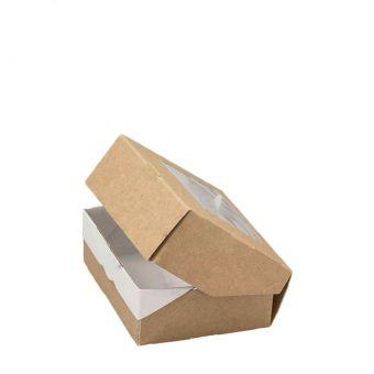 Коробка 10*8*3.5 см с откидной крышкой