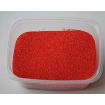 Цветной песок Красный, 100 гр