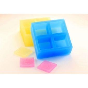 Квадрат для штампа 3*3 4 ячейки - силиконовая форма