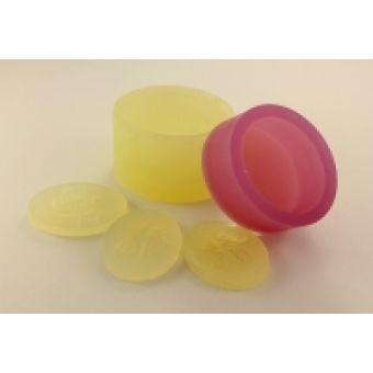 Силиконовая форма для мыла - Овал для штампа 3 * 4