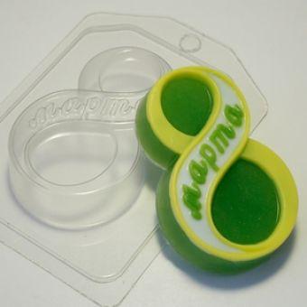 8 марта Классическое - пластиковая форма