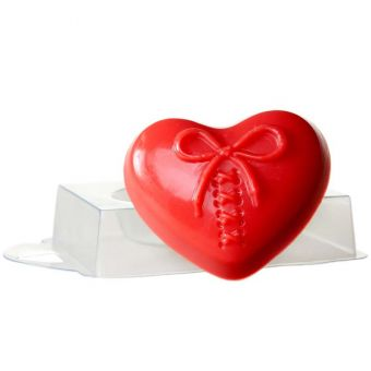 Сердце на шнурке - пластиковая форма