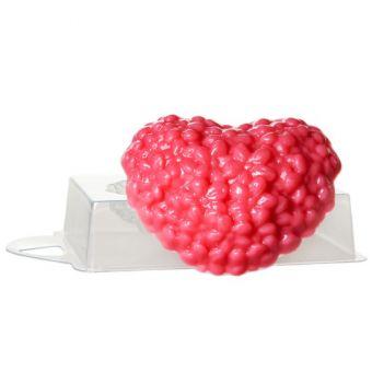 Цветочное сердце (pc) - пластиковая форма