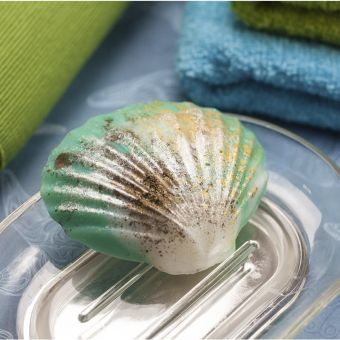 Ракушка жемчужная - (pc) пластиковая форма