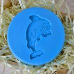 Силиконовый штамп для скрапбукинга - Дельфин