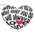 Силиконовый штамп для скрапбукинга - Любовное сердце