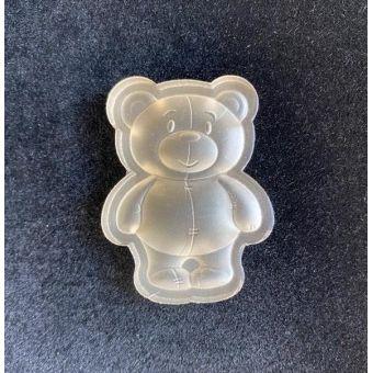 Силиконовый штамп для скрапбукинга - Медвежонок (форма)