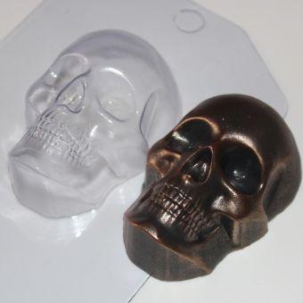 Пластиковая форма для мыла - Череп (ED)