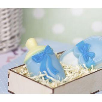 """Пластиковая форма для мыла """"Бутылочка для малыша (pc)"""""""