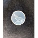 Силиконовый штамп для скрапбукинга - Волк воет (ed)