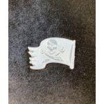 Силиконовый штамп для скрапбукинга - Пиратский флаг (ed)