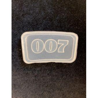 Силиконовый штамп для скрапбукинга - Агент 007 (ed)