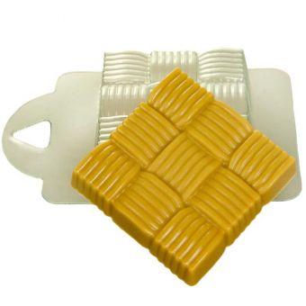 Квадрат плетеный - пластиковая форма pc