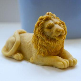Лев 3D - силиконовая форма