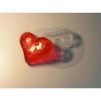 """Пластиковая форма для мыла """"Влюбленность (ed)"""""""