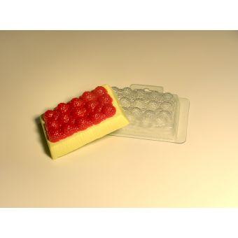 Ягодное пирожное MF - пластиковая форма