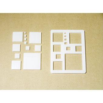 Декор-набор «Квадраты разные»