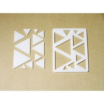 Декор-набор для творчества «Треугольники разные»