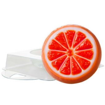 """Пластиковая форма для мыла """"Апельсин сочный (pc)"""""""