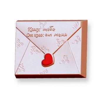 Любовное послание (конвертик) (pc) - пластиковая форма