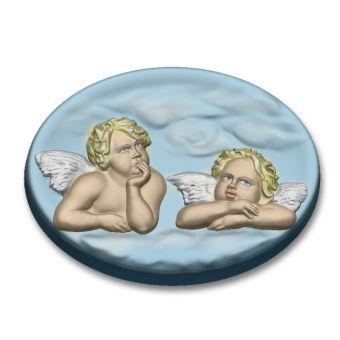 Ангелы в облаках (РС) - пластиковая форма