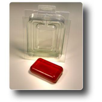 """Пластиковая форма для мыла """"3D Прямоугольник, сторона Б"""""""