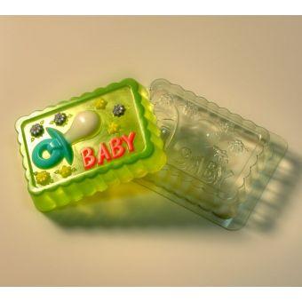 "Пластиковая форма для мыла ""Baby"""