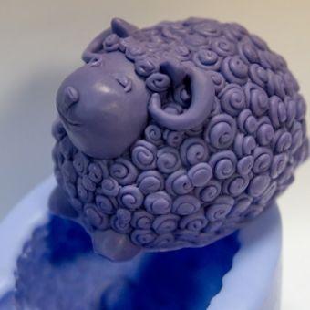 Баран 3D - силиконовая форма